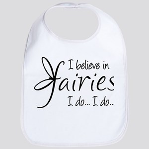 I believe in fairies Bib