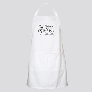 I believe in fairies Apron