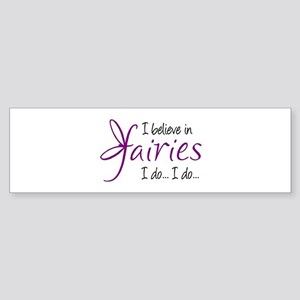 i believe in fairies color Sticker (Bumper)