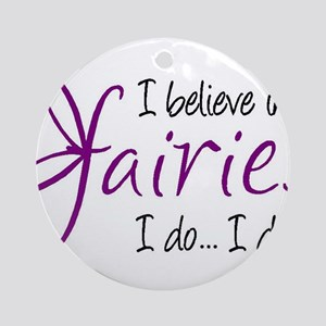 i believe in fairies color Ornament (Round)