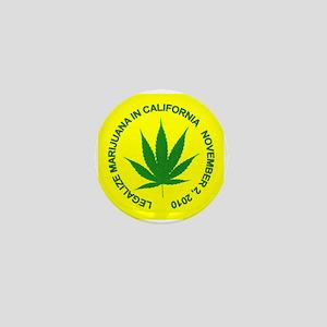 Legalize Pot Mini Button