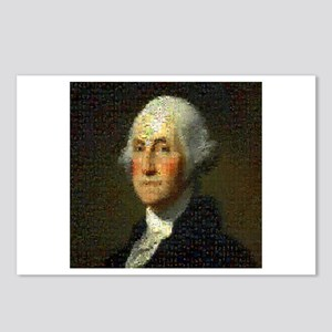 George Washington Mosaic Postcards (Package of 8)