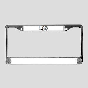 LSD License Plate Frame
