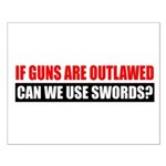 Can We Use Swords? Small Poster
