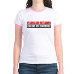 Can We Use Swords? Jr. Ringer T-Shirt