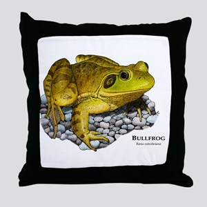 Bullfrog Throw Pillow