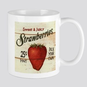 Pick Your Own Strawberries Mug