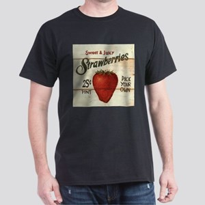 Pick Your Own Strawberries Dark T-Shirt