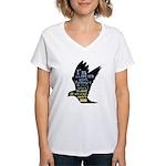 LTT LTR Women's V-Neck T-Shirt