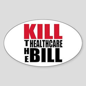 Kill the bill Sticker (Oval)