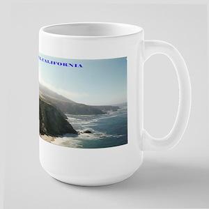 California Coast Large Mug