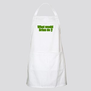 Would Brian Do Irish Rugby Humour BBQ Apron