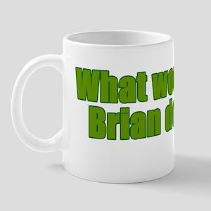 Would Brian Do Irish Rugby Humour Mug