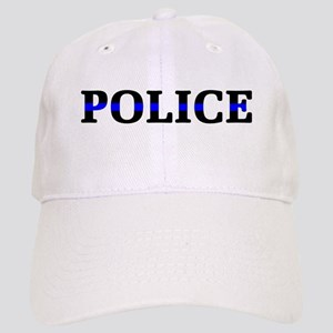 Police Blue Line Cap
