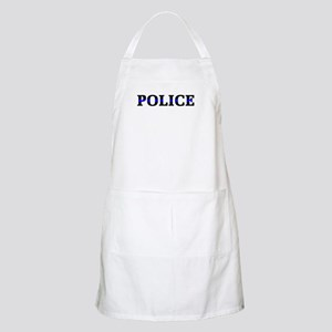 Police Blue Line Apron