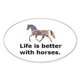 Horse Stickers & Flair