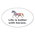 Sticker (Oval 50 pk)