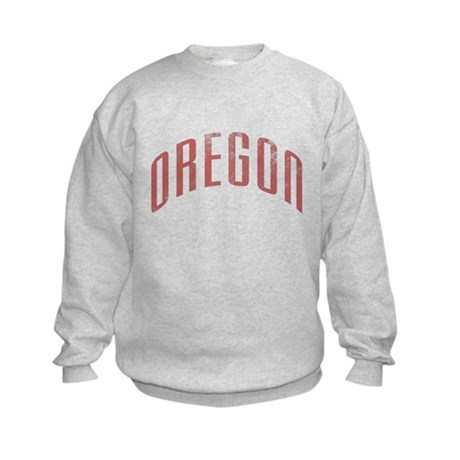 Oregon Grunge Kids Sweatshirt