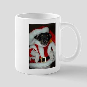 Rat Terrier holiday mug