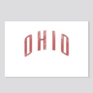 Ohio Grunge Postcards (Package of 8)