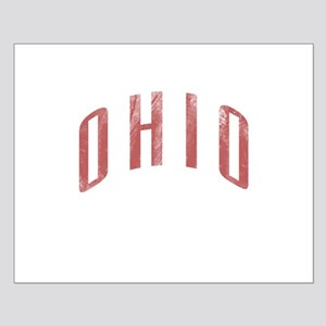 Ohio Grunge Small Poster