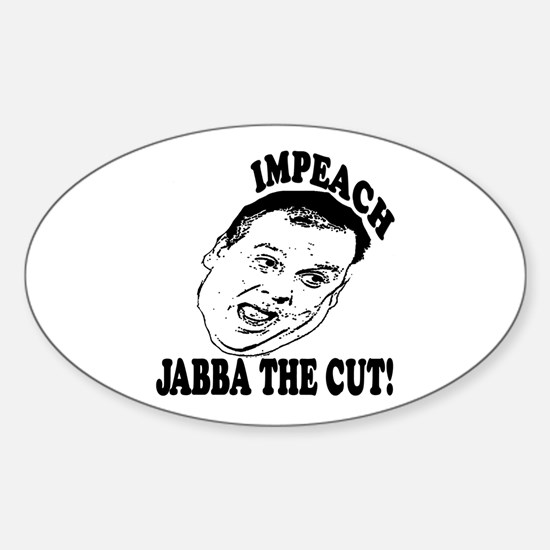 Impeach Christie Sticker (Oval)