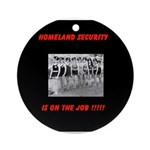 Homeland Security Ornament (Round)