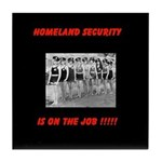 Homeland Security Tile Coaster