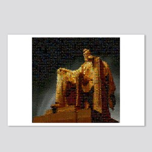 Lincoln Memorial Mosaic Postcards (Package of 8)