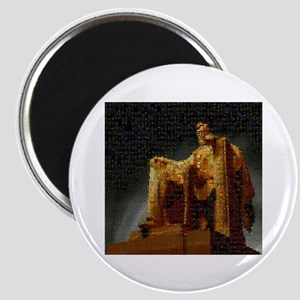 Lincoln Memorial Mosaic Magnet