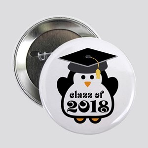 "Penguin Class of 2018 2.25"" Button"