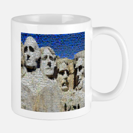 Mount Rushmore Photo Mosaic Mug
