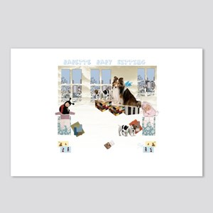 Babette Baby Sitting Postcards (Package of 8)