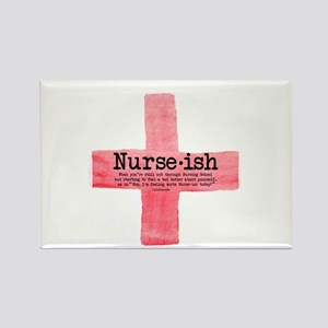 Nurse Ish Student Rectangle Magnet Magnets