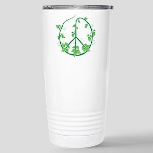 Green Peace Stainless Steel Travel Mug