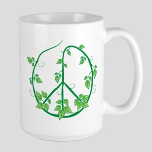 Green Peace Large Mug