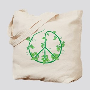 Recycling. Green Peace Tote Bag