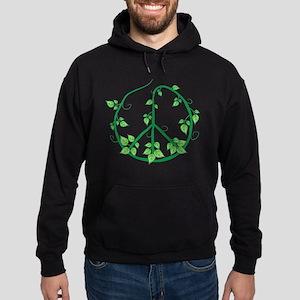 Green Peace Hoodie (dark)
