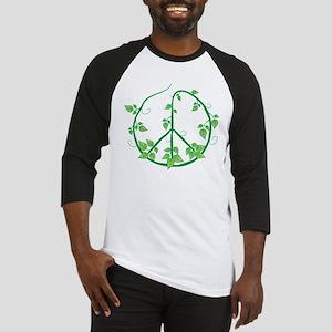 Green Peace Baseball Jersey