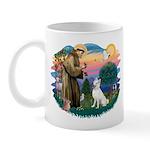 St Francis #2/ S Husky (W) Mug