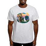 St Francis #2/ S Husky (W) Light T-Shirt
