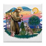 St Francis #2/ S Husky #2 Tile Coaster