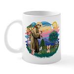 St Francis #2/ Yorkie #17 Mug
