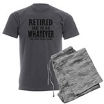 Retired Men's Charcoal Pajamas