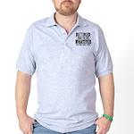 Retired Dark Polo Shirt