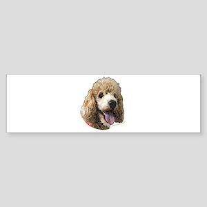 Standard Poodle Bumper Sticker