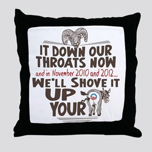Ram Health Care Reform Throw Pillow