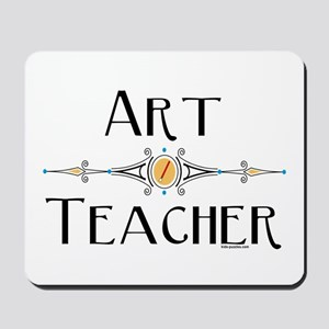 Art Teacher Line Mousepad