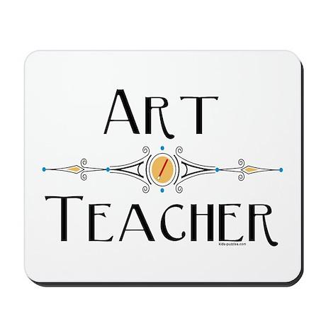 Art Teacher Line Mousepad