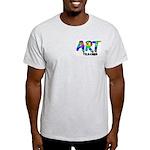 Art Teacher Pocket Image Light T-Shirt